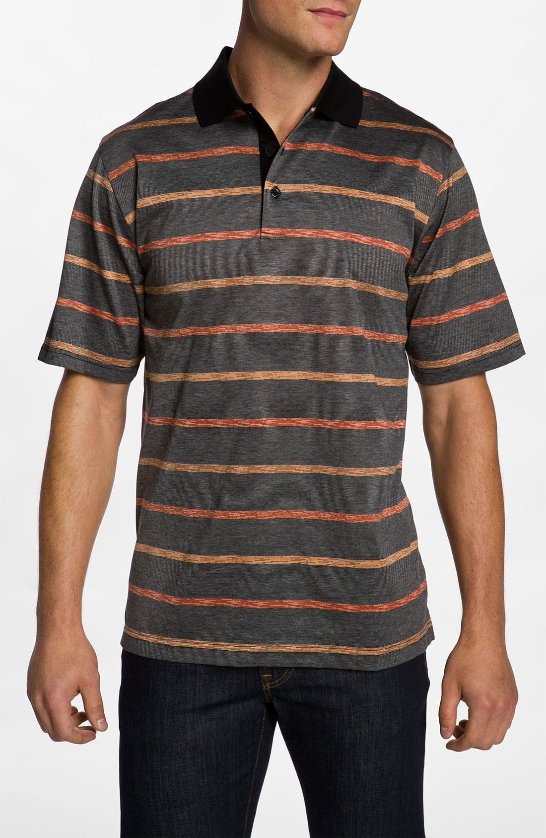 Main Image - Bugatchi Uomo Regular Fit Polo