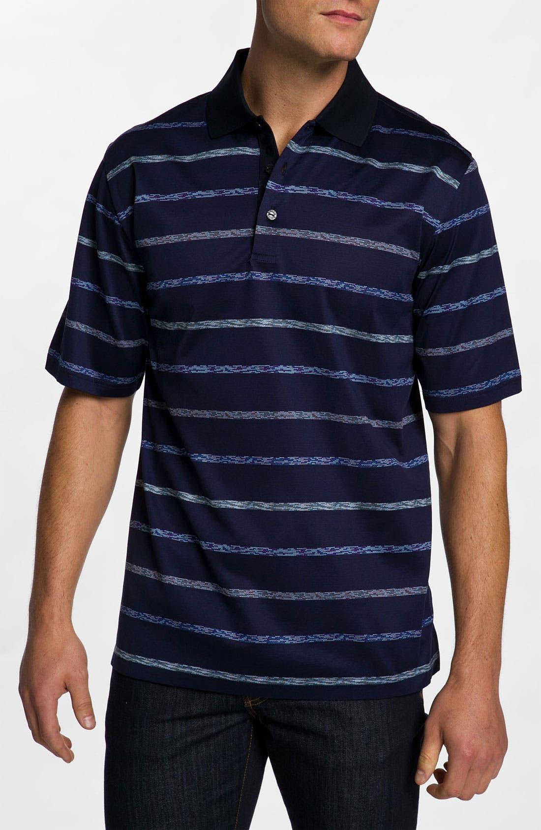Main Image - Bugatchi Uomo Regular Fit Polo