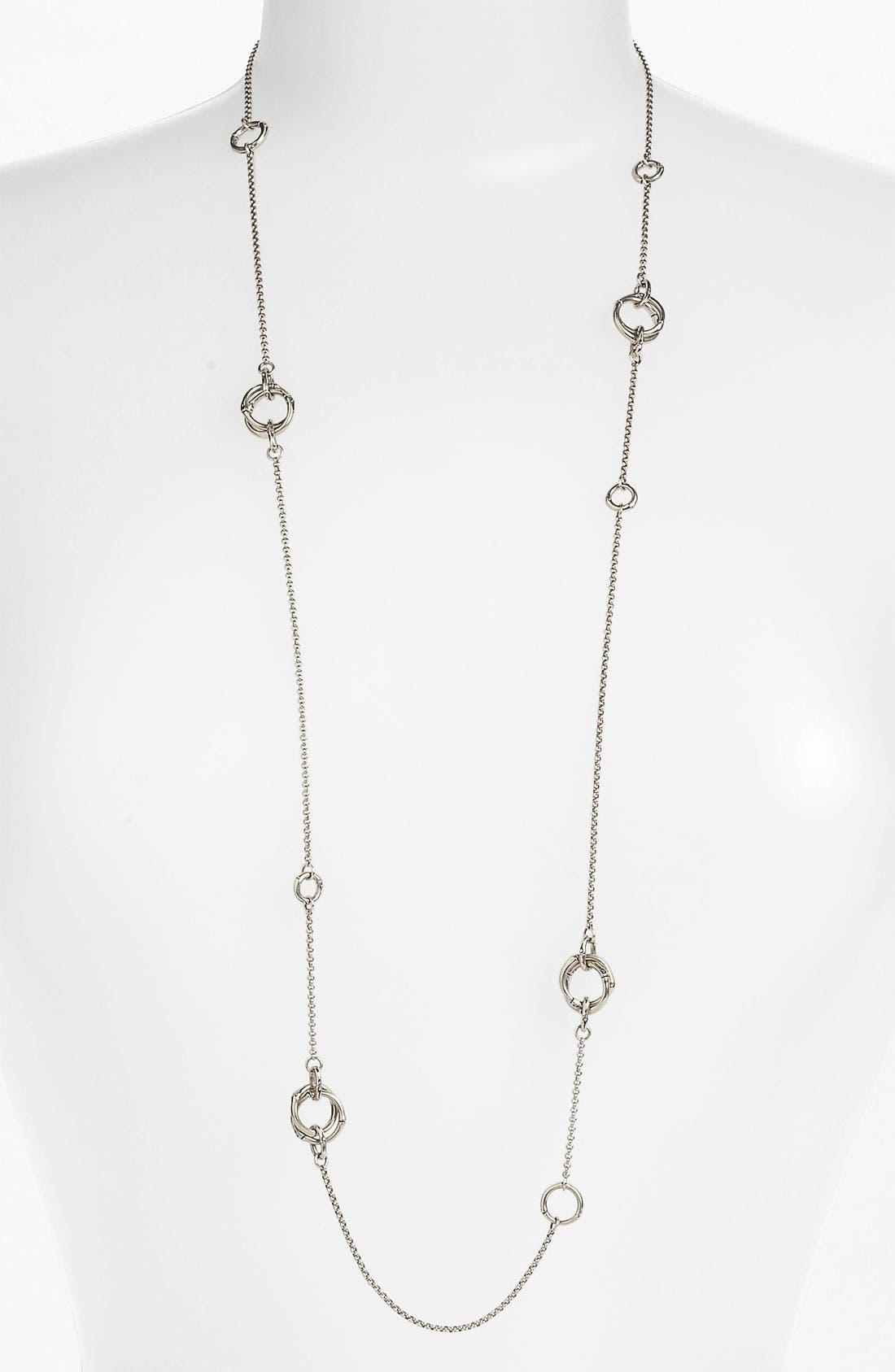 Alternate Image 1 Selected - John Hardy 'Bamboo' Long Sautoir Necklace