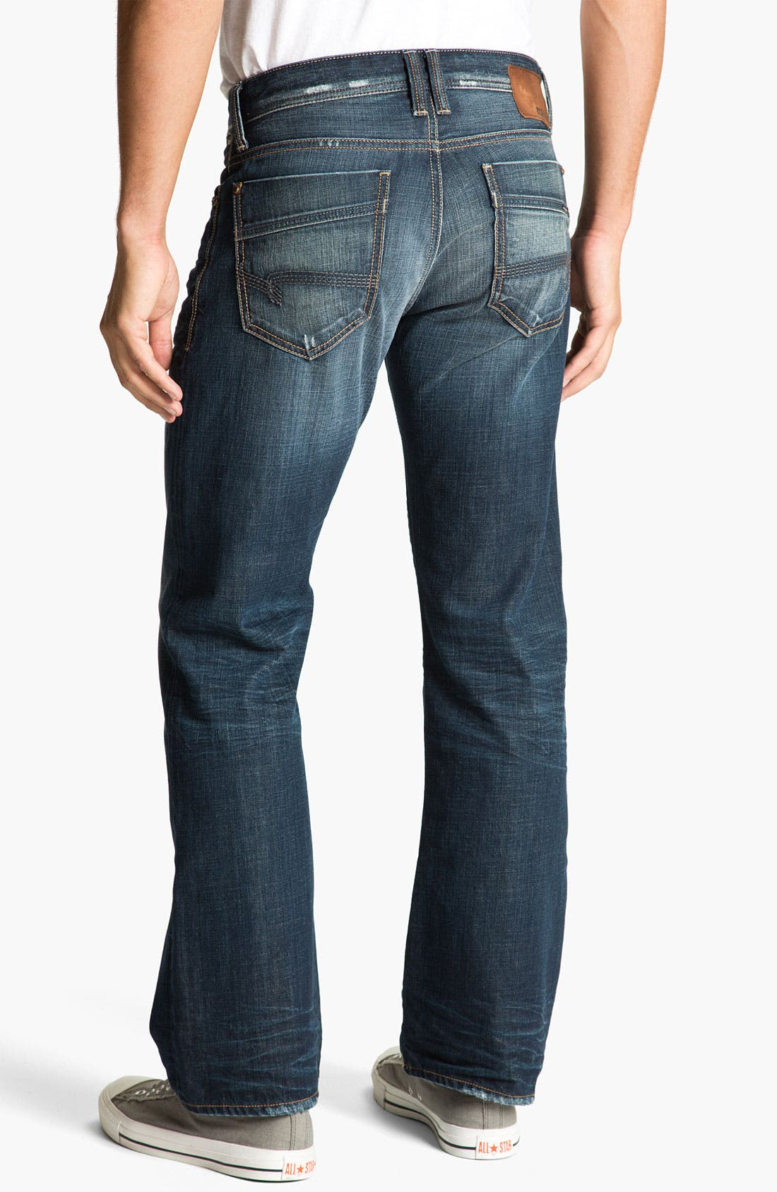 Main Image - Mavi Jeans 'Josh' Bootcut Jeans (Deep Indigo American Vintage)
