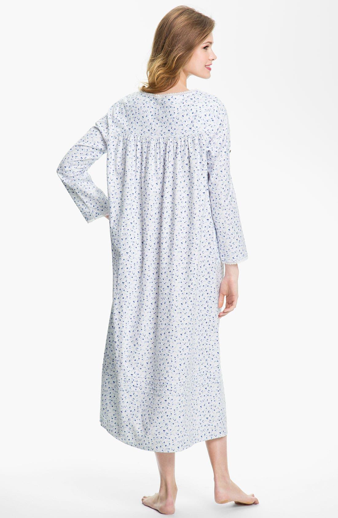 Alternate Image 2  - Eileen West 'Enchanted Winter' Nightgown