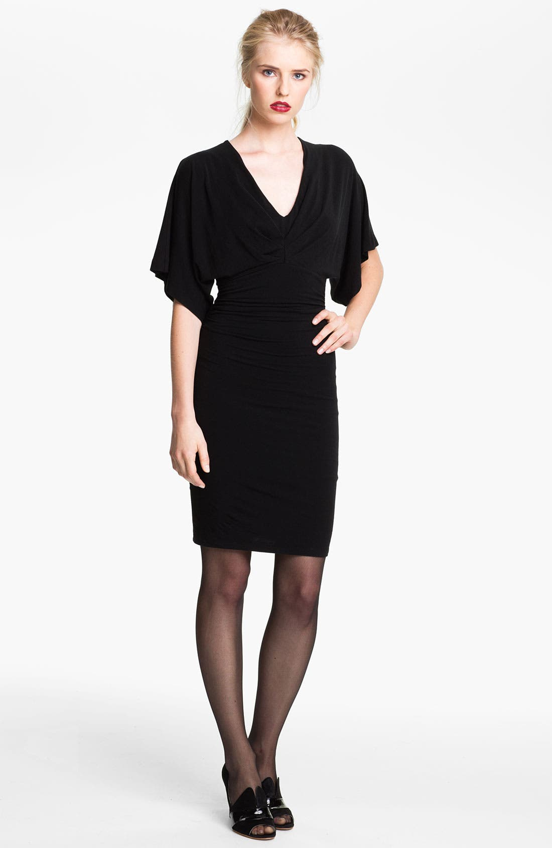 Main Image - Tracy Reese Dolman Sleeve Jersey Dress