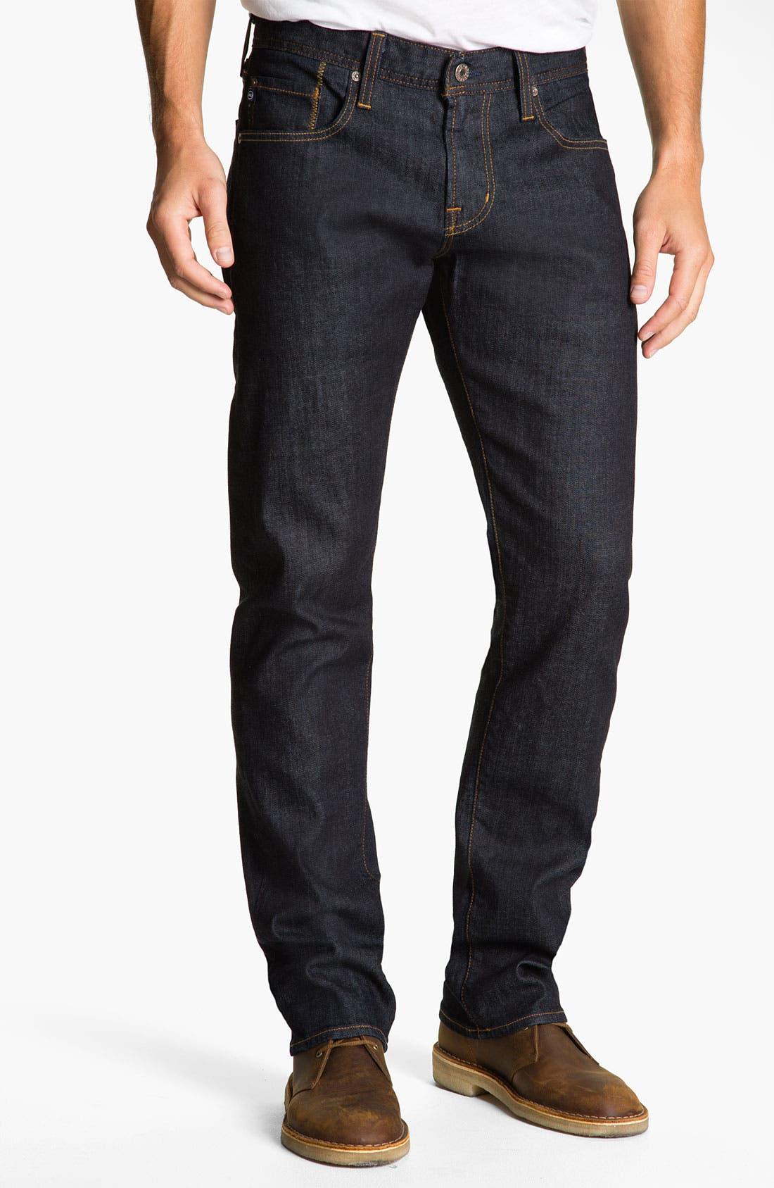 Alternate Image 1 Selected - AG Jeans 'Geffen Easy Slim' Straight Leg Jeans (Jack)