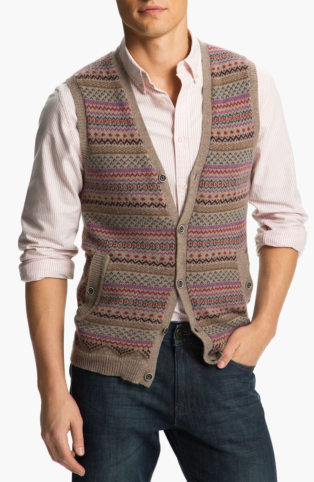 Main Image - Ted Baker London 'Fairmun' Sweater Vest