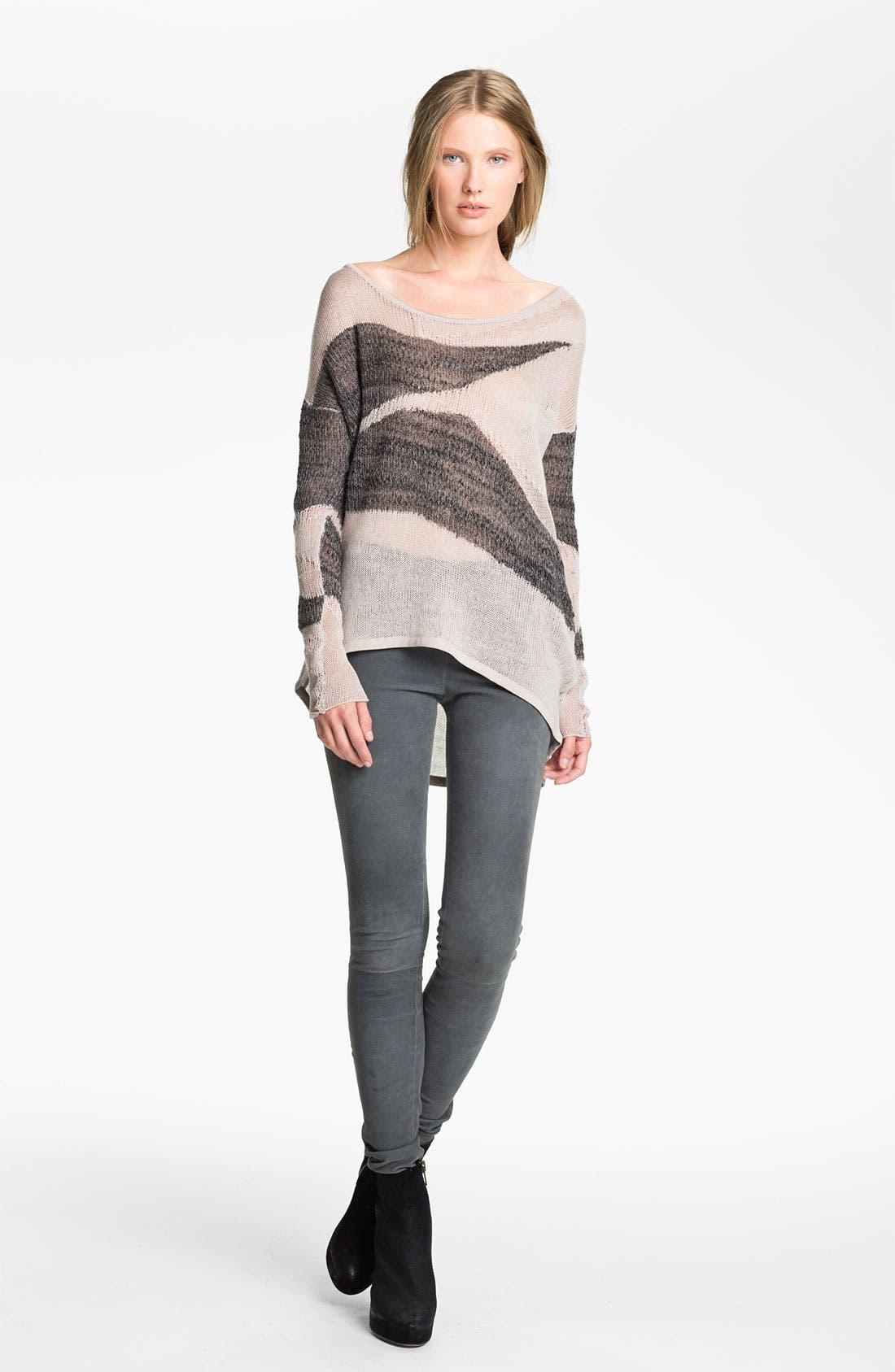 Alternate Image 1 Selected - Helmut Lang 'Merging Texture' Sweater