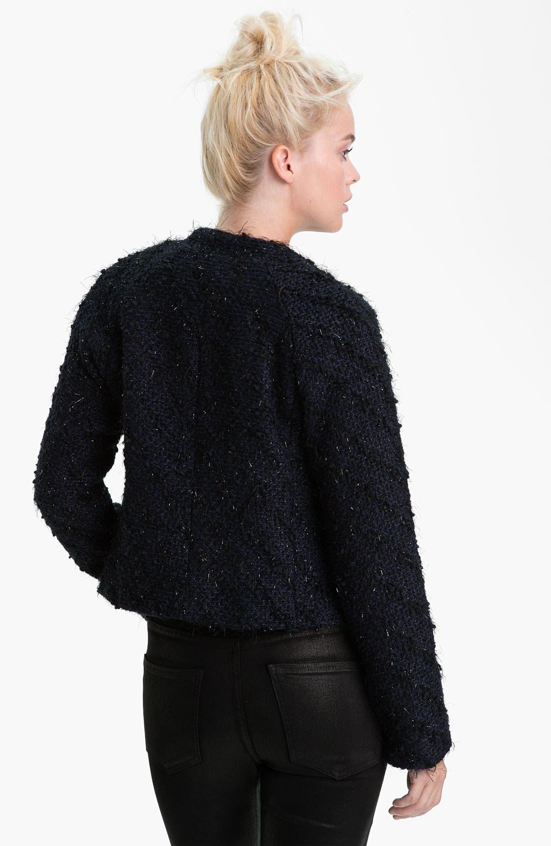 Alternate Image 2  - Sanctuary 'Far East' Feather Tweed Jacket