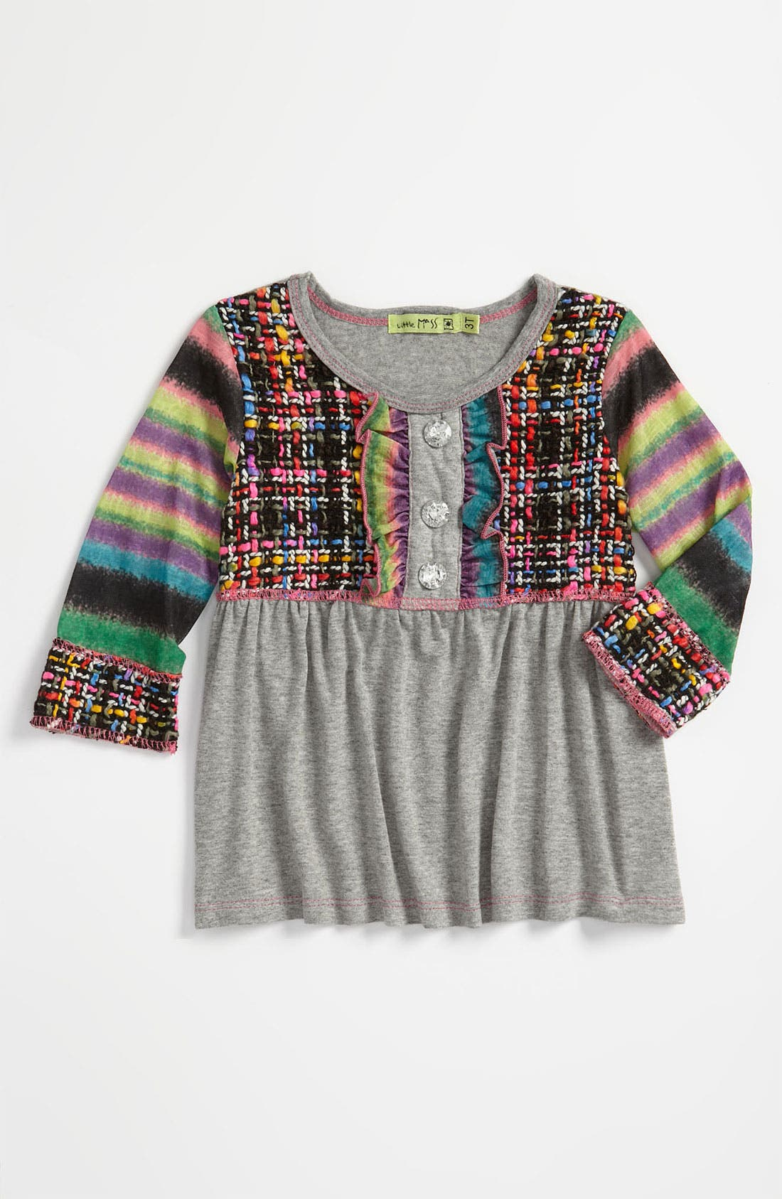 Alternate Image 1 Selected - Little Mass Baby Doll Top (Toddler)