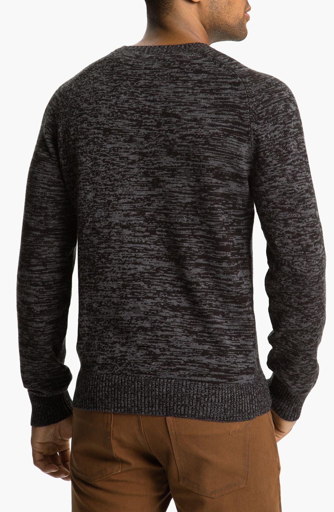 Alternate Image 2  - Calibrate 'Witkin' Cotton & Cashmere Crewneck Sweater