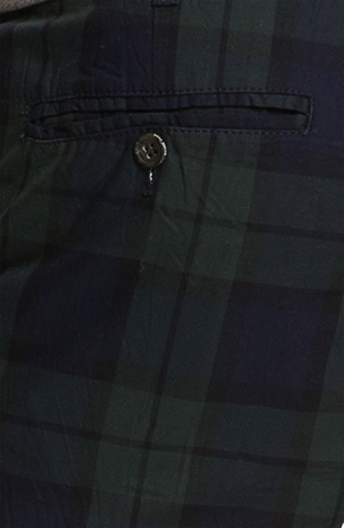Alternate Image 3  - Just A Cheap Shirt Tartan Plaid Slim Straight Leg Chinos