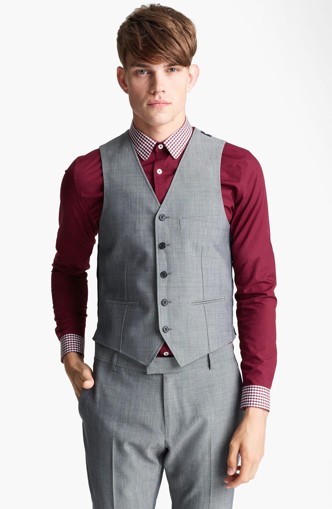 Alternate Image 1 Selected - Topman Waistcoat