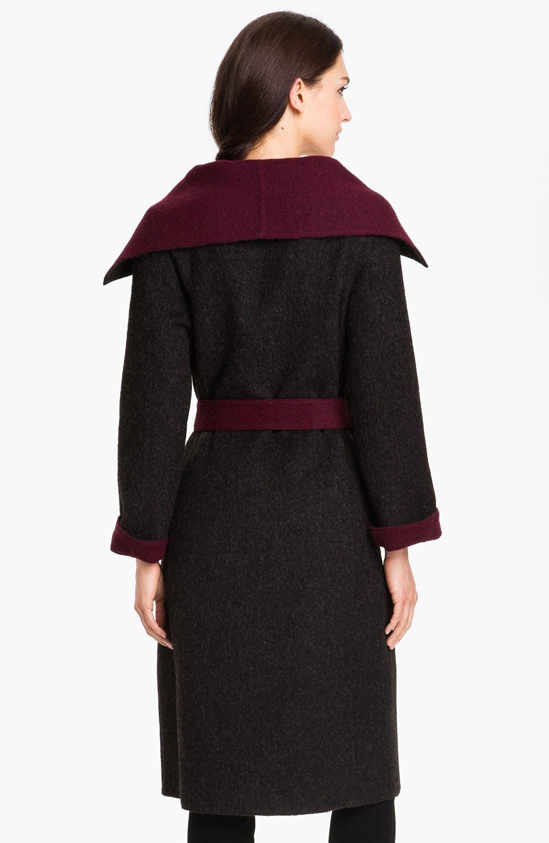 Alternate Image 3  - Beyond Threads Reversible Wrap Coat
