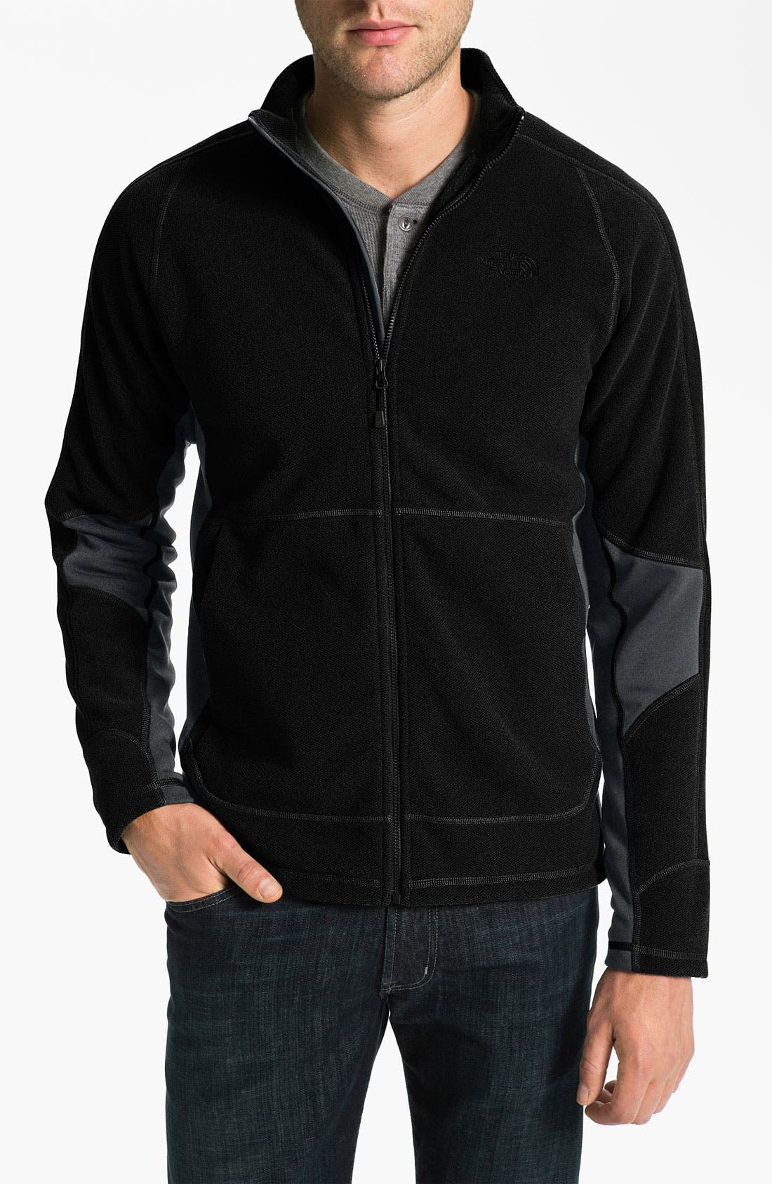 Alternate Image 1 Selected - The North Face 'Dihedral Hybrid' Fleece Jacket