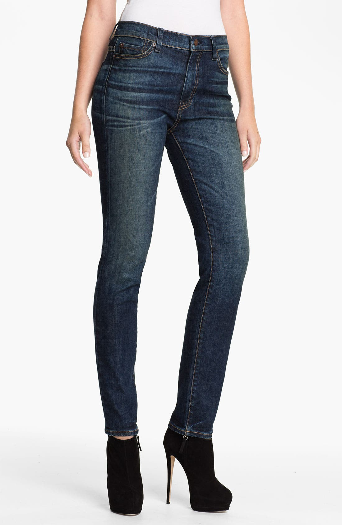 Alternate Image 1 Selected - TEXTILE Elizabeth and James 'Cyndi' High Rise Skinny Jeans
