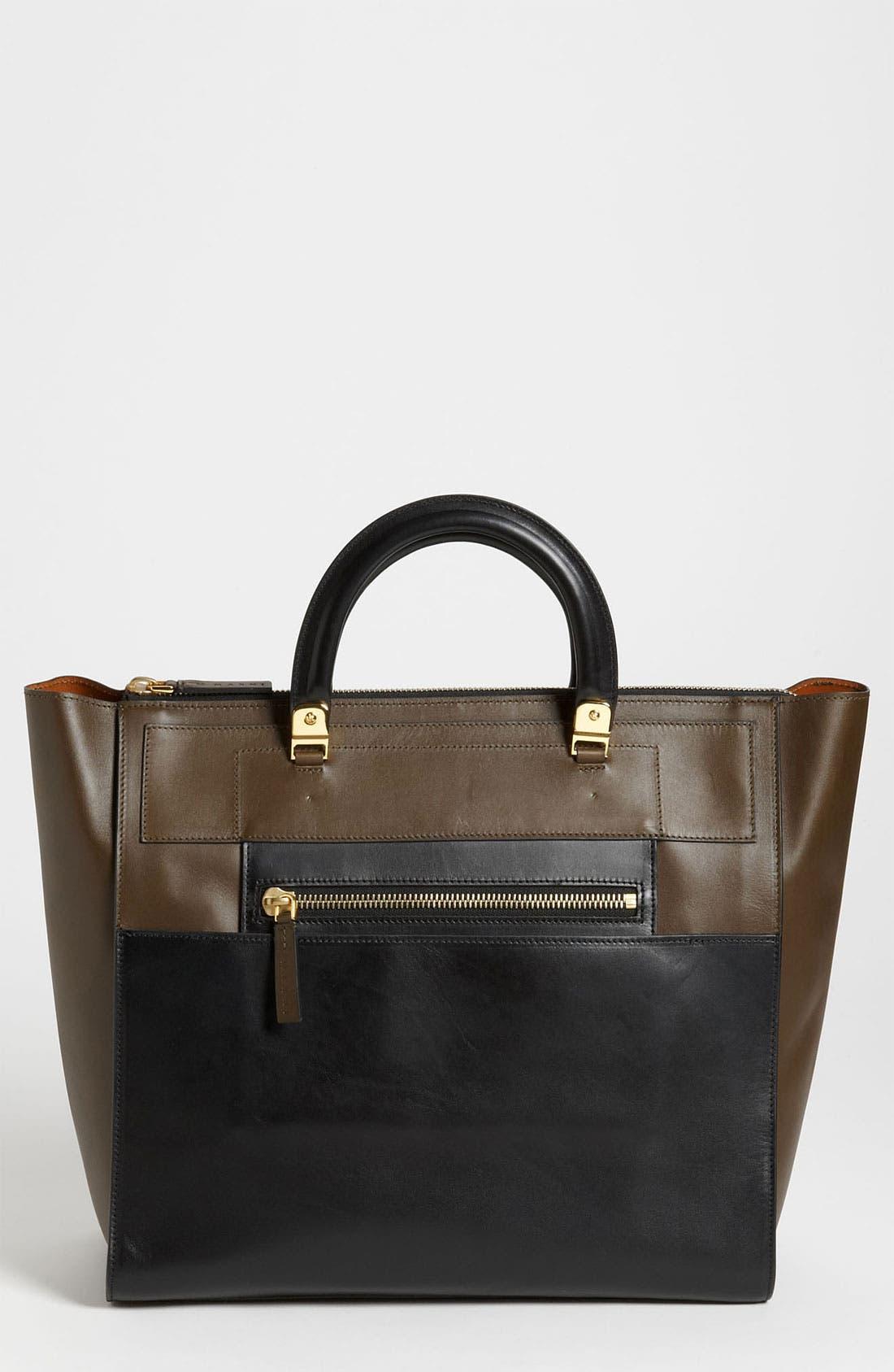 Main Image - Marni 'Large' Leather Tote