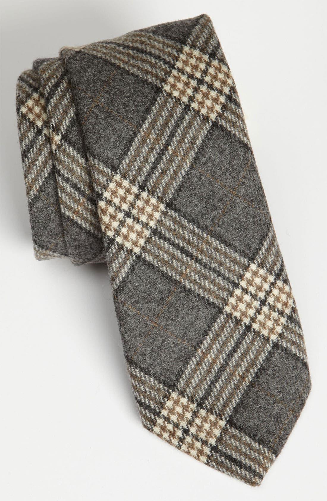 Main Image - Samuelsohn Woven Wool Tie