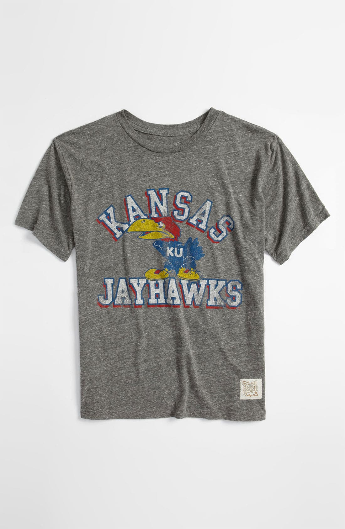 Alternate Image 1 Selected - Retro Brand 'Kansas' T-Shirt (Big Boys)
