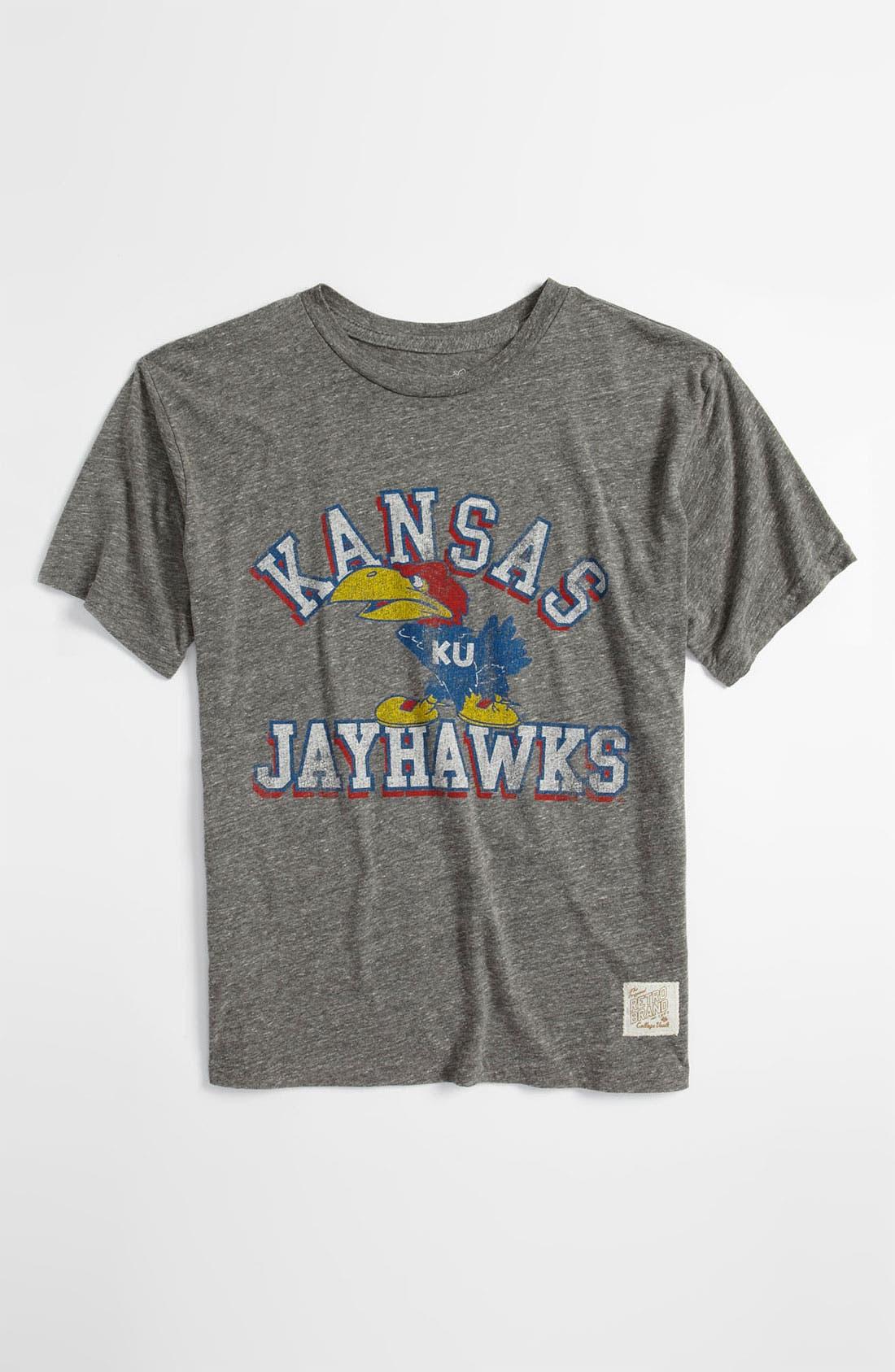 Main Image - Retro Brand 'Kansas' T-Shirt (Big Boys)