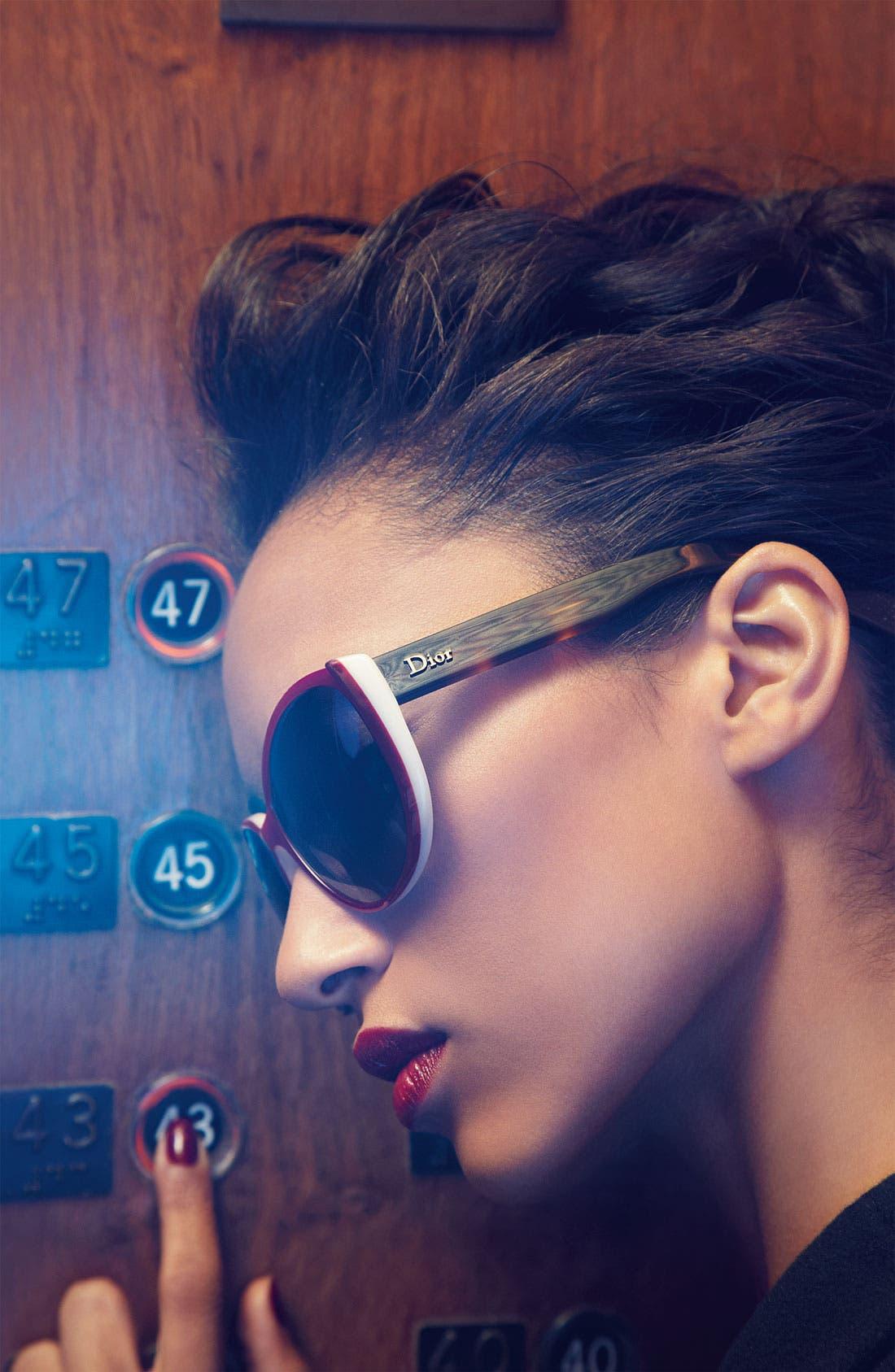Alternate Image 2  - Dior 'Summer' 56mm Retro Sunglasses