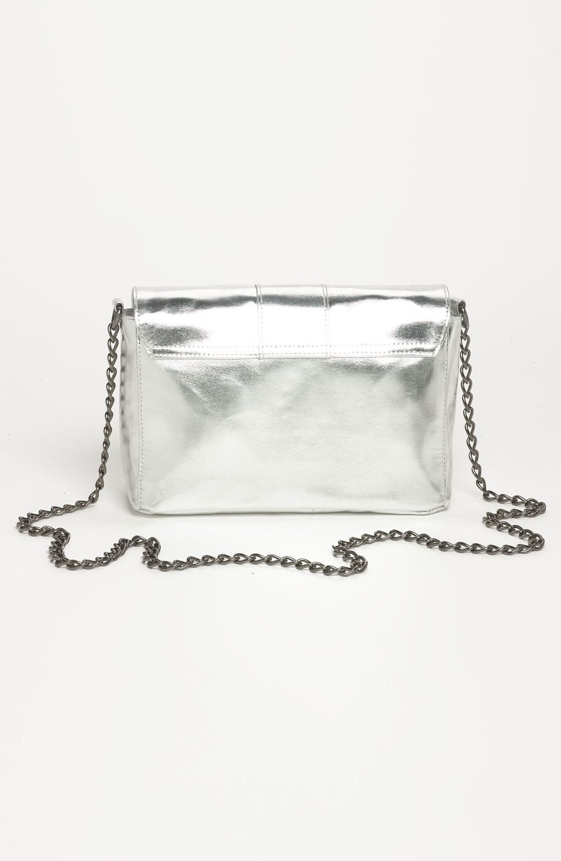 Alternate Image 4  - Lulu Metallic Crossbody Bag