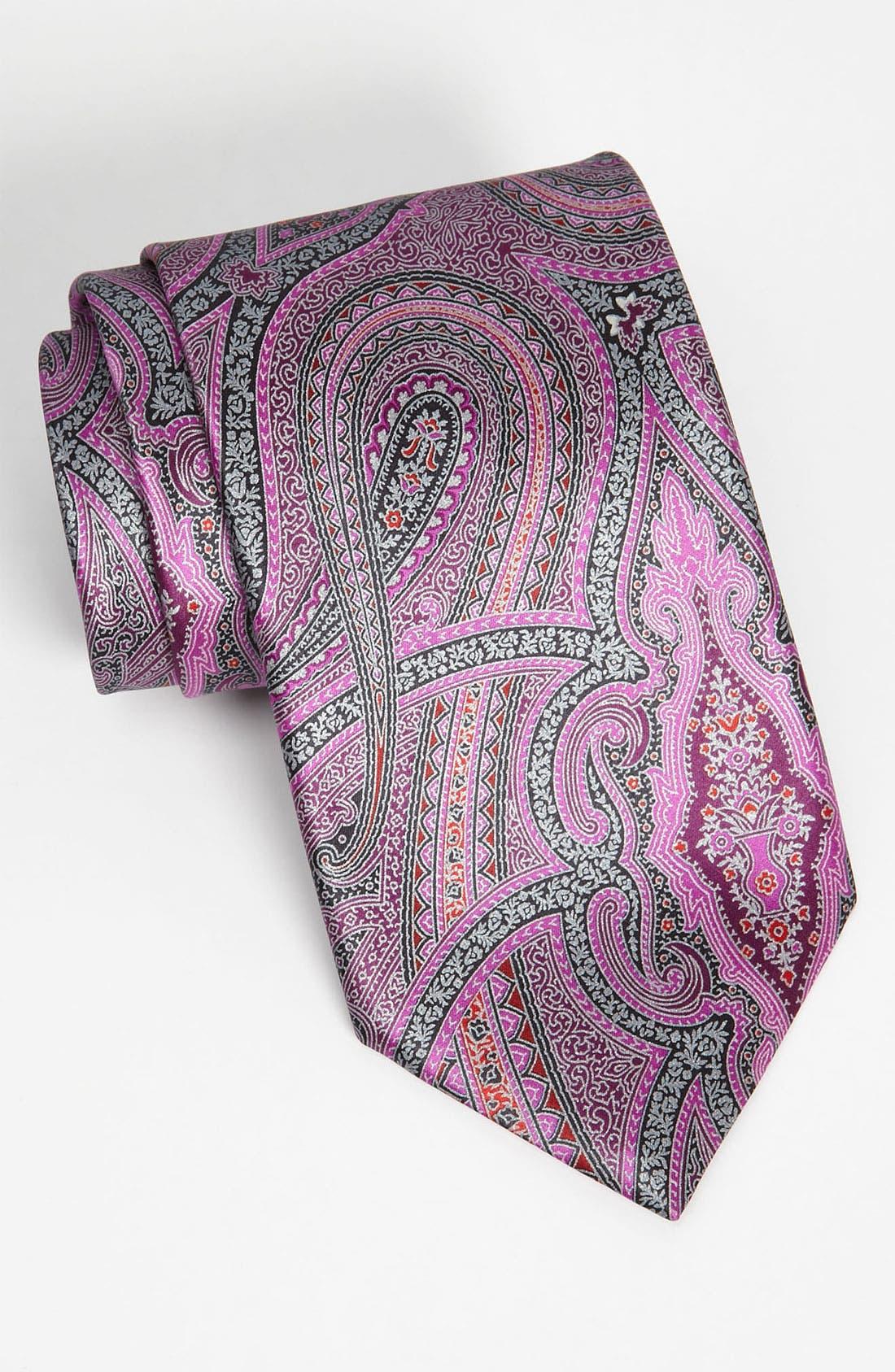 Main Image - Ermenegildo Zegna Woven Silk Tie