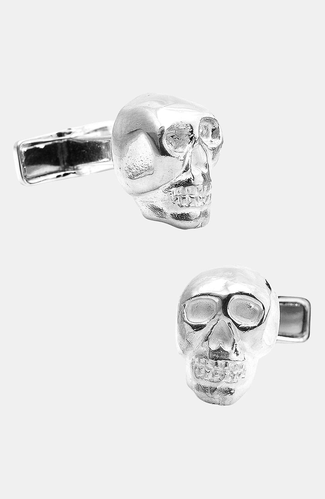 Alternate Image 1 Selected - Ox and Bull Trading Co. Skull Cuff Links