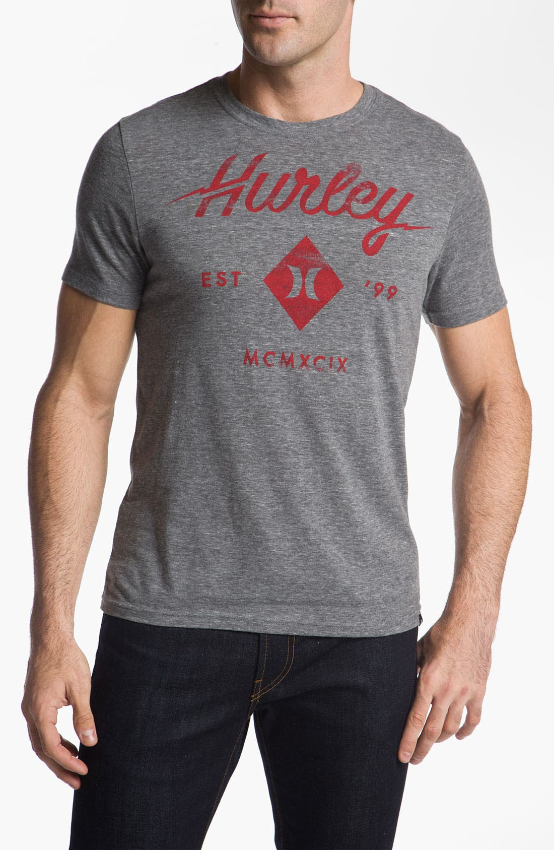 Alternate Image 1 Selected - Hurley 'Shock Treatment' Graphic T-Shirt