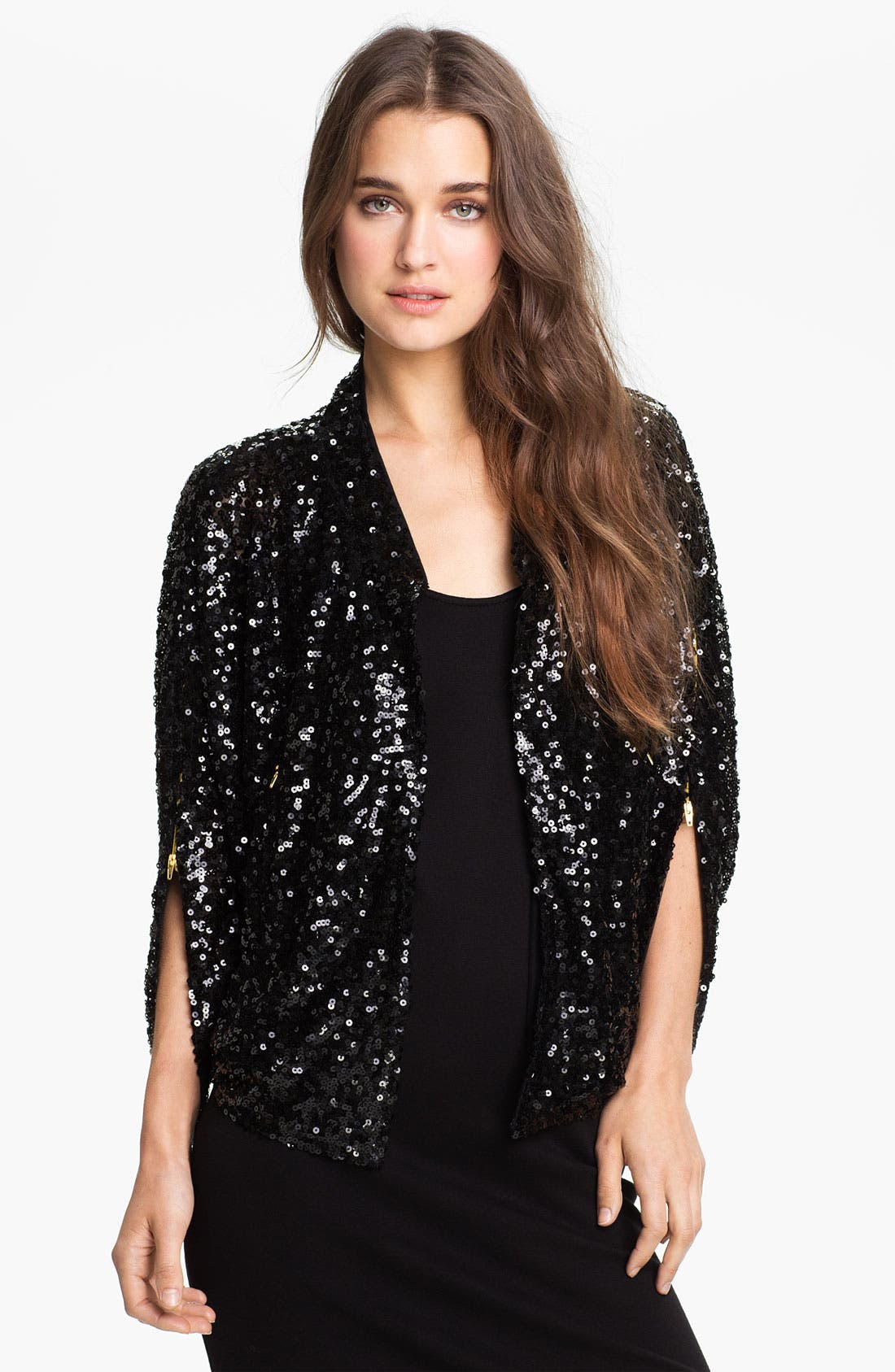 Alternate Image 1 Selected - Tarnish Sequin Topper