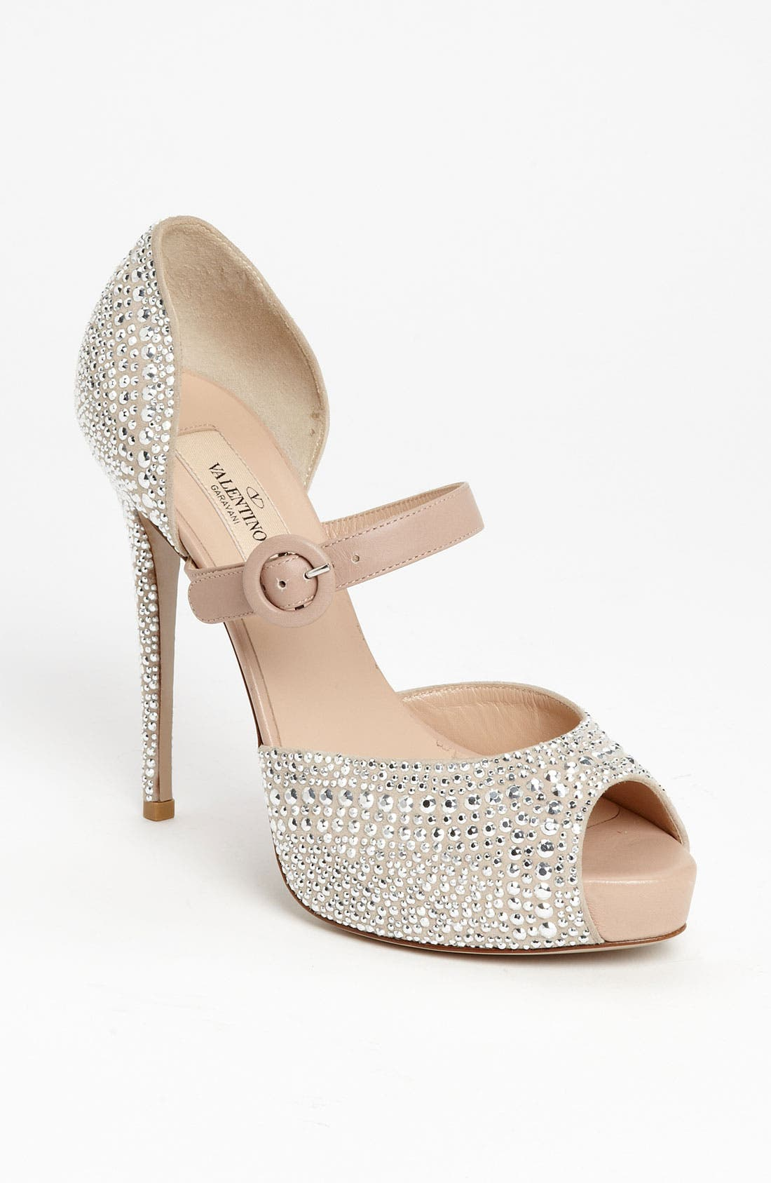 Alternate Image 1 Selected - Valentino 'Microstud' Mary Jane Pump