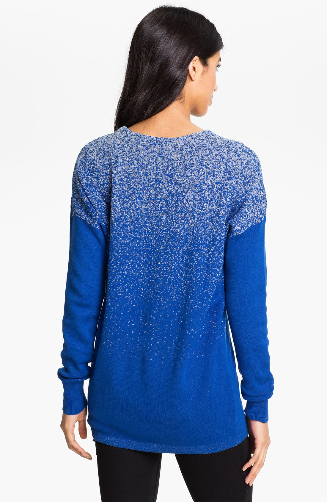 Alternate Image 2  - One A Ombré Shimmer Sweater