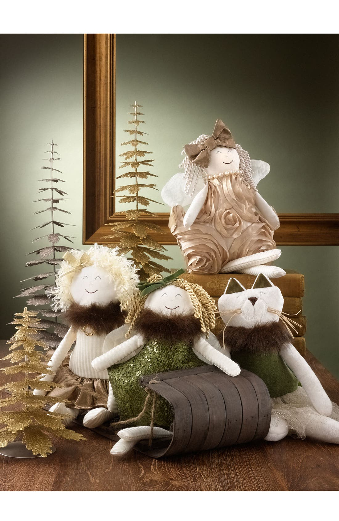 Alternate Image 2  - Woof & Poof 'Party' Cat Decoration