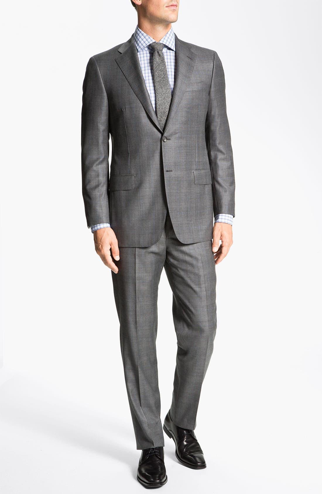 Alternate Image 2  - Hickey Freeman 'B Series' Wool Suit