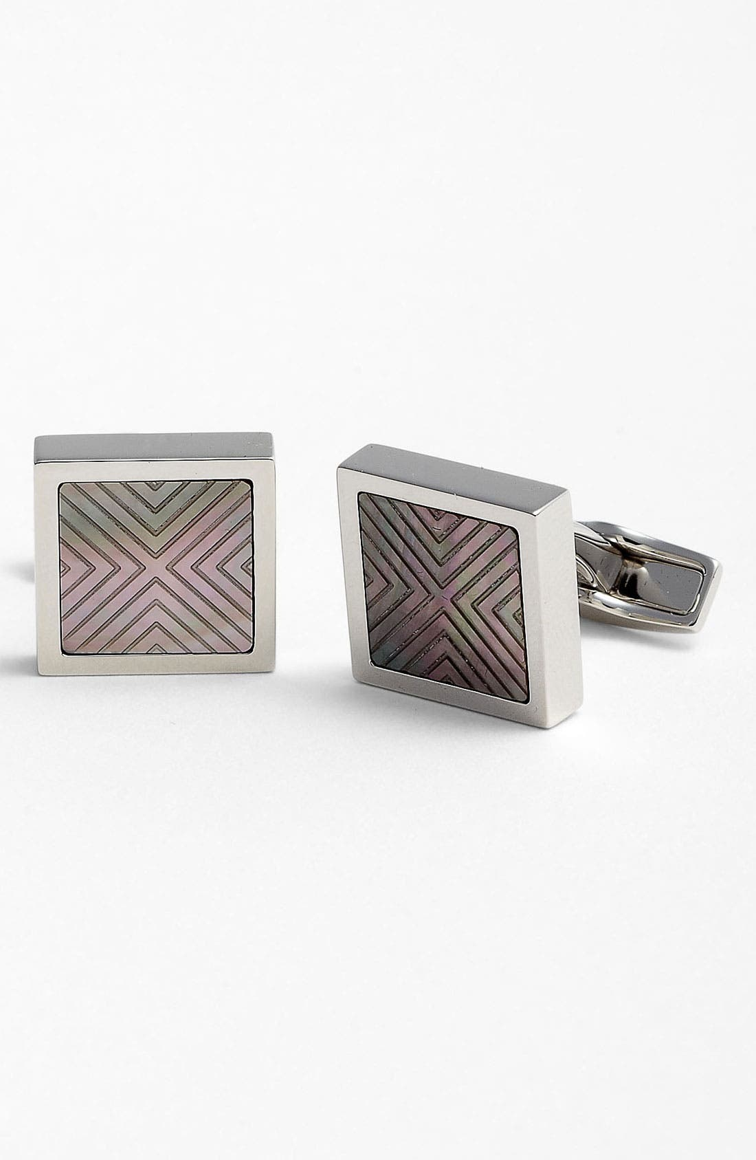 Alternate Image 1 Selected - BOSS Black 'Ayton' Cuff Links