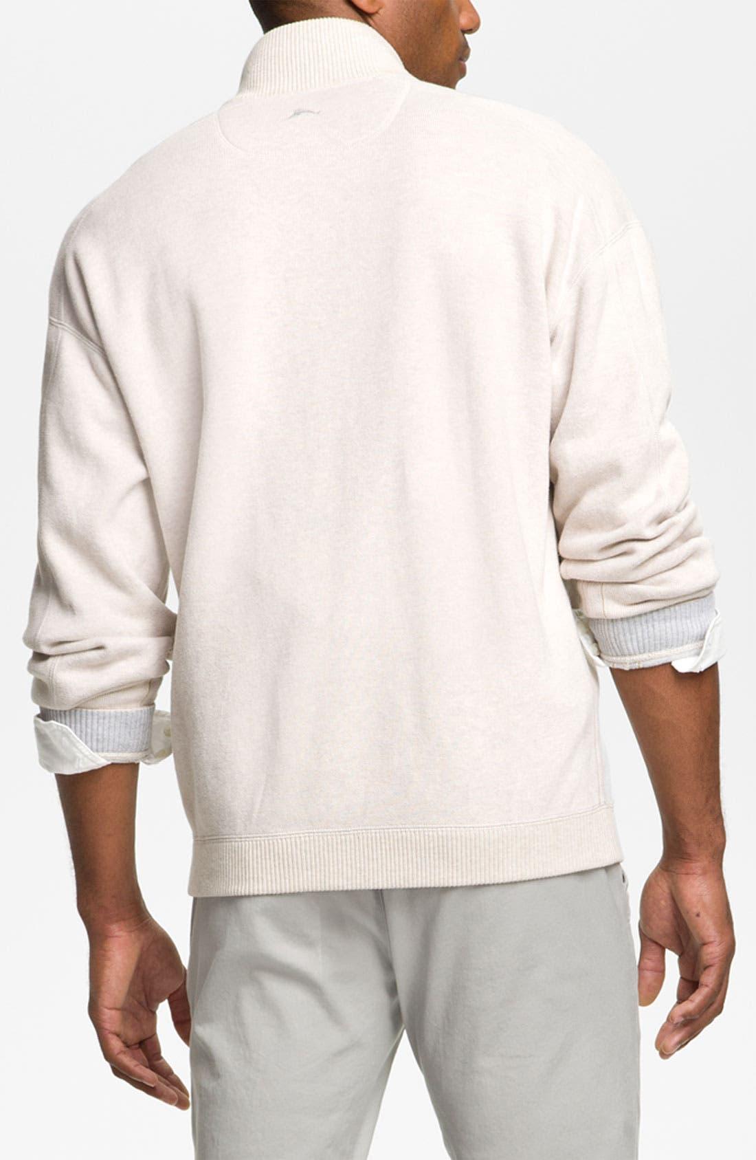 Alternate Image 2  - Tommy Bahama 'Flip Side Pro' Reversible Half Zip Pullover