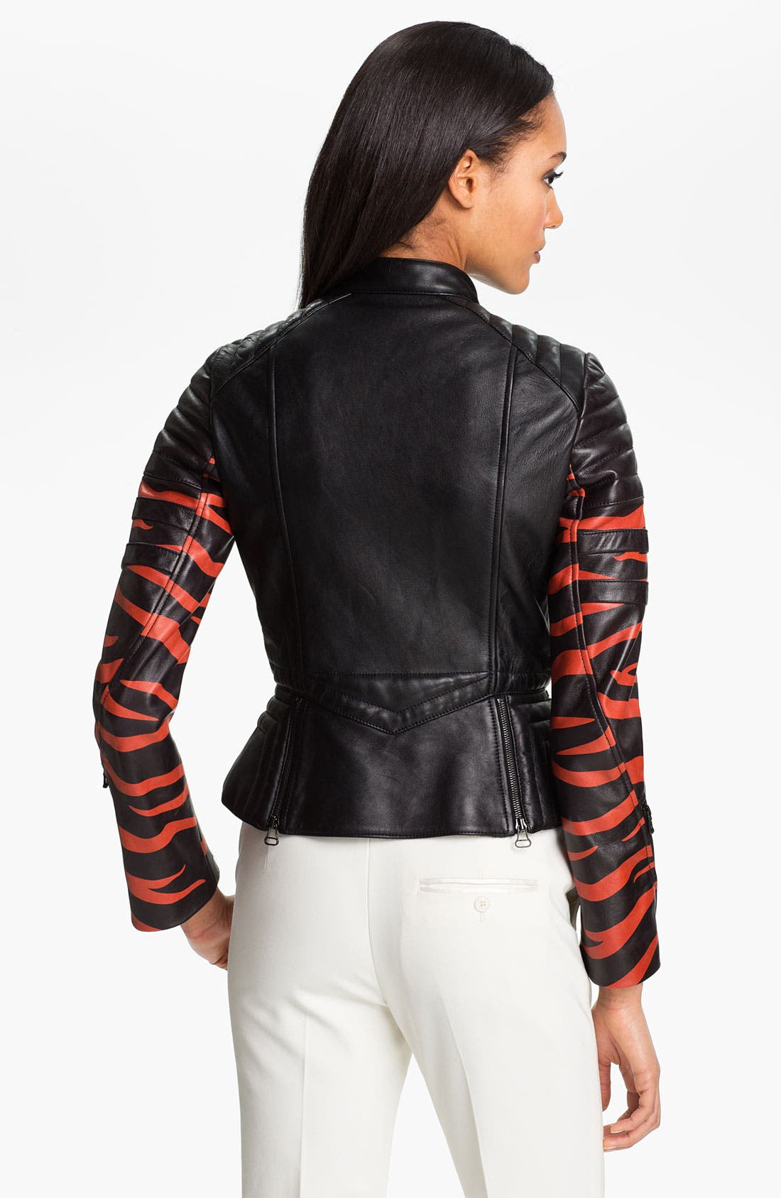 Alternate Image 2  - 3.1 Phillip Lim Peplum Motorcycle Jacket