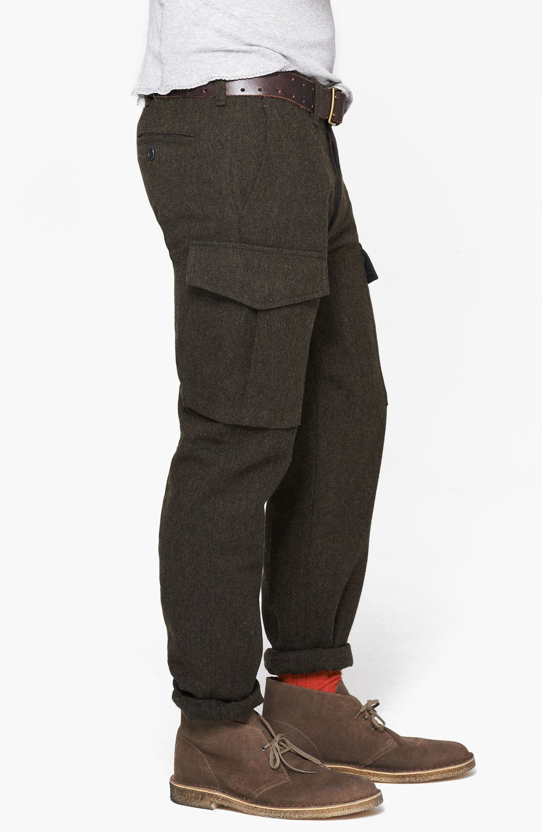 Alternate Image 3  - Todd Snyder 'Officer' Wool Cargo Pants