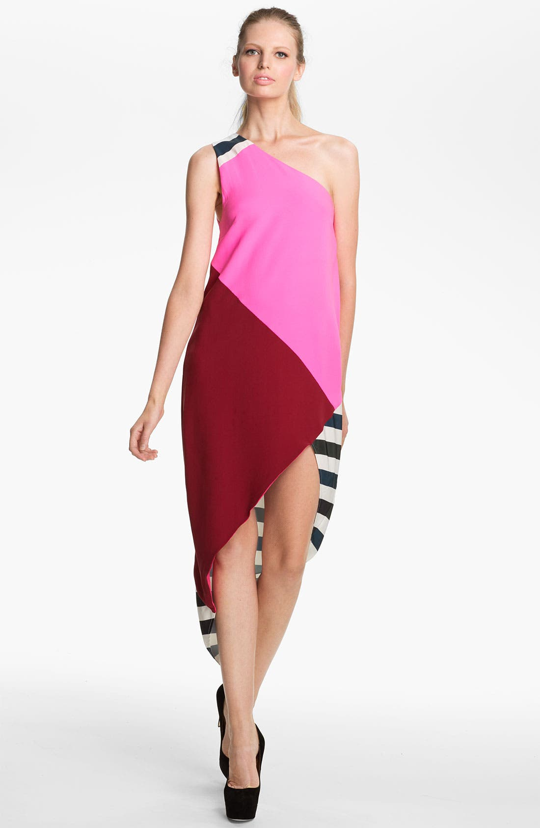 Main Image - camilla and marc 'Oriel' One Shoulder Double Georgette Dress