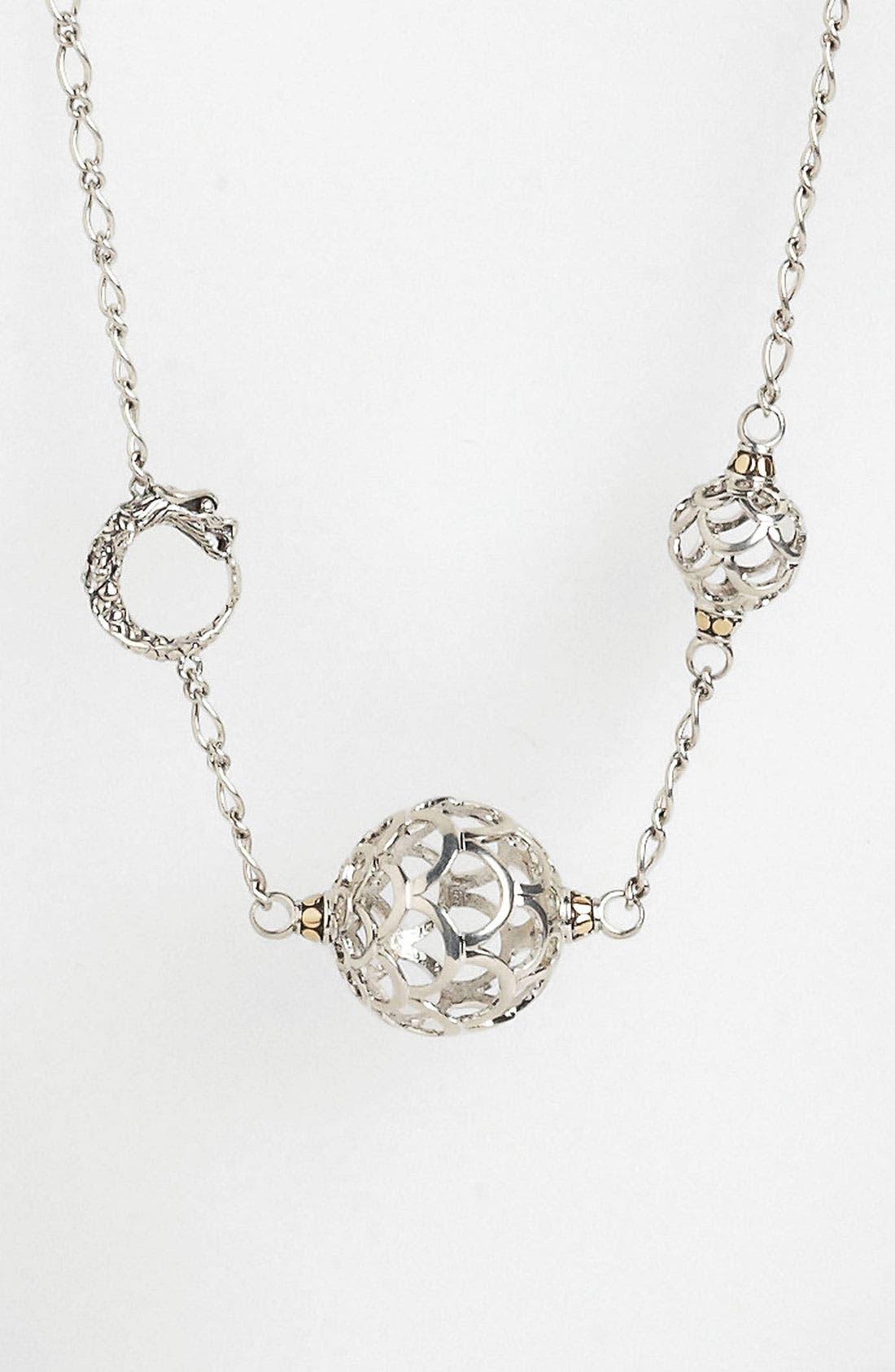 Alternate Image 2  - John Hardy 'Naga Gold & Silver' Long Sautoir Necklace