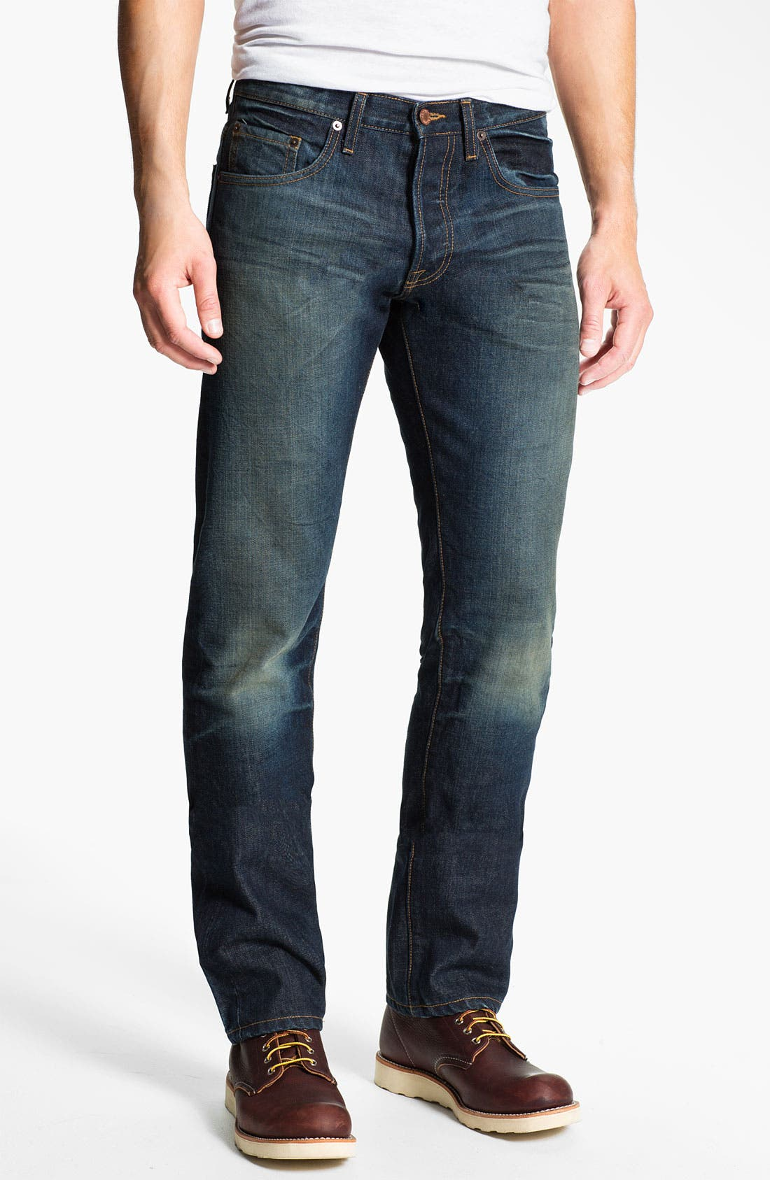 Alternate Image 2  - Baldwin 'Reed' Straight Leg Jeans (John)