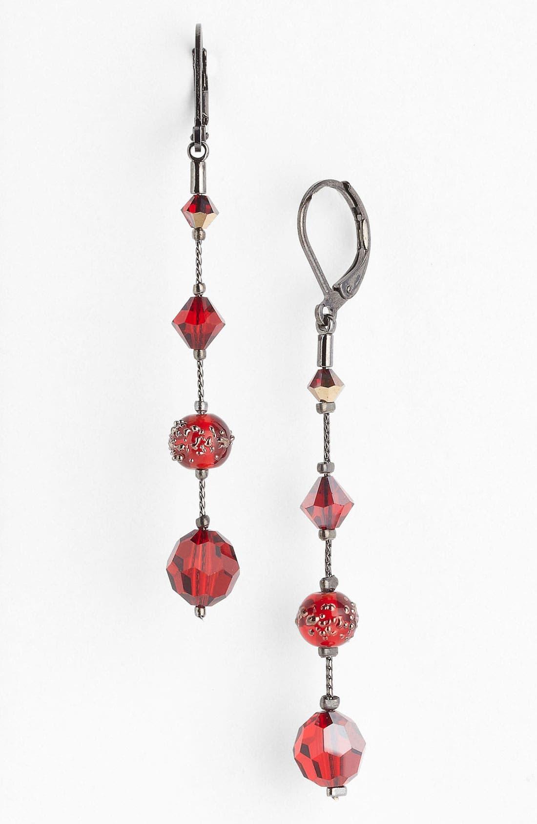 Alternate Image 1 Selected - Dabby Reid 'Natalie' Long Crystal Earrings