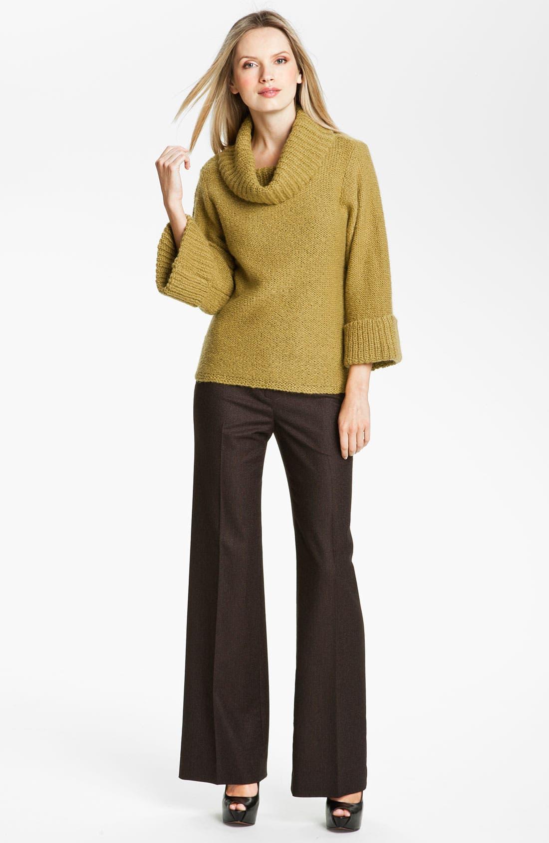 Alternate Image 4  - Classiques Entier® 'Mousse' Cowl Neck Sweater