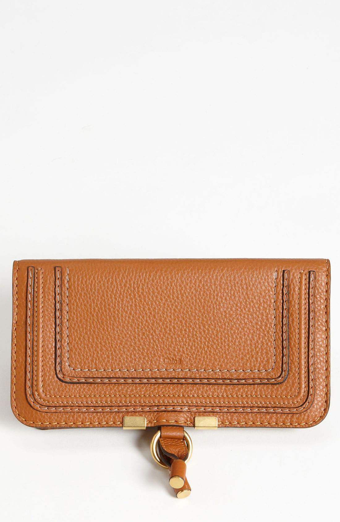 Main Image - Chloé 'Marcie' Continental Snap Wallet