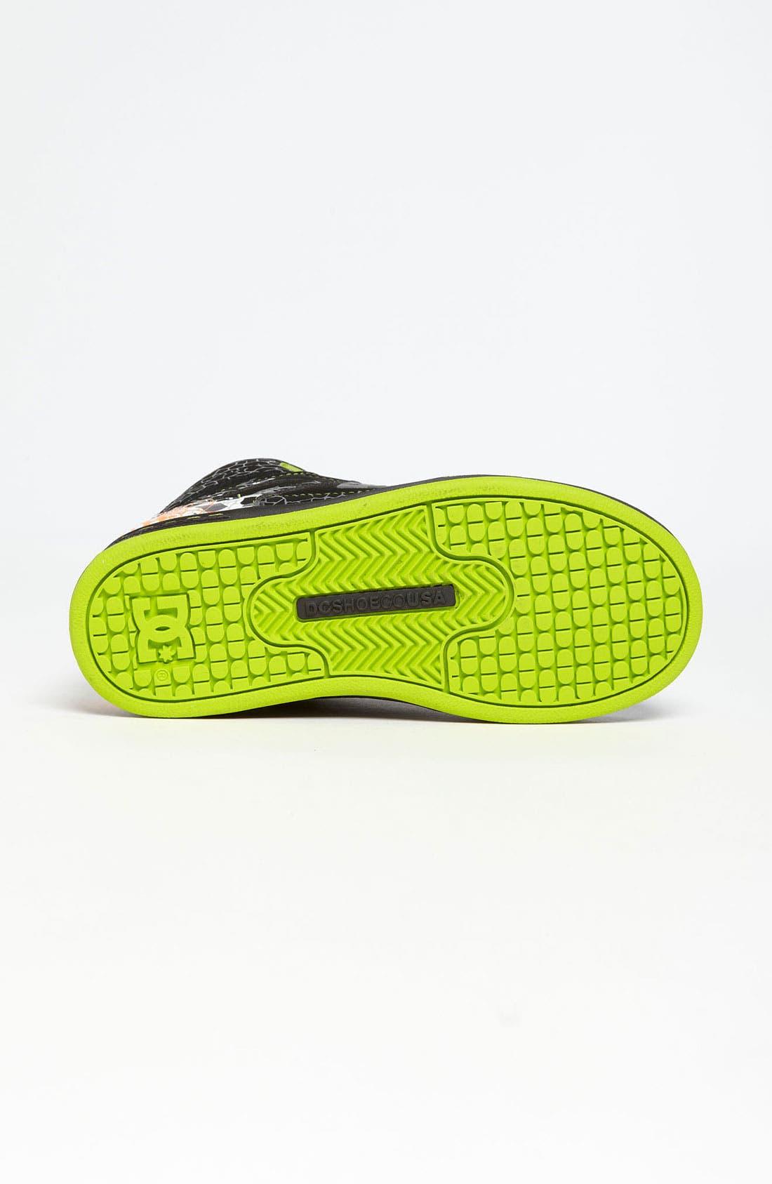 Alternate Image 4  - DC Shoes 'Rebound' Sneaker (Toddler, Little Kid & Big Kid)