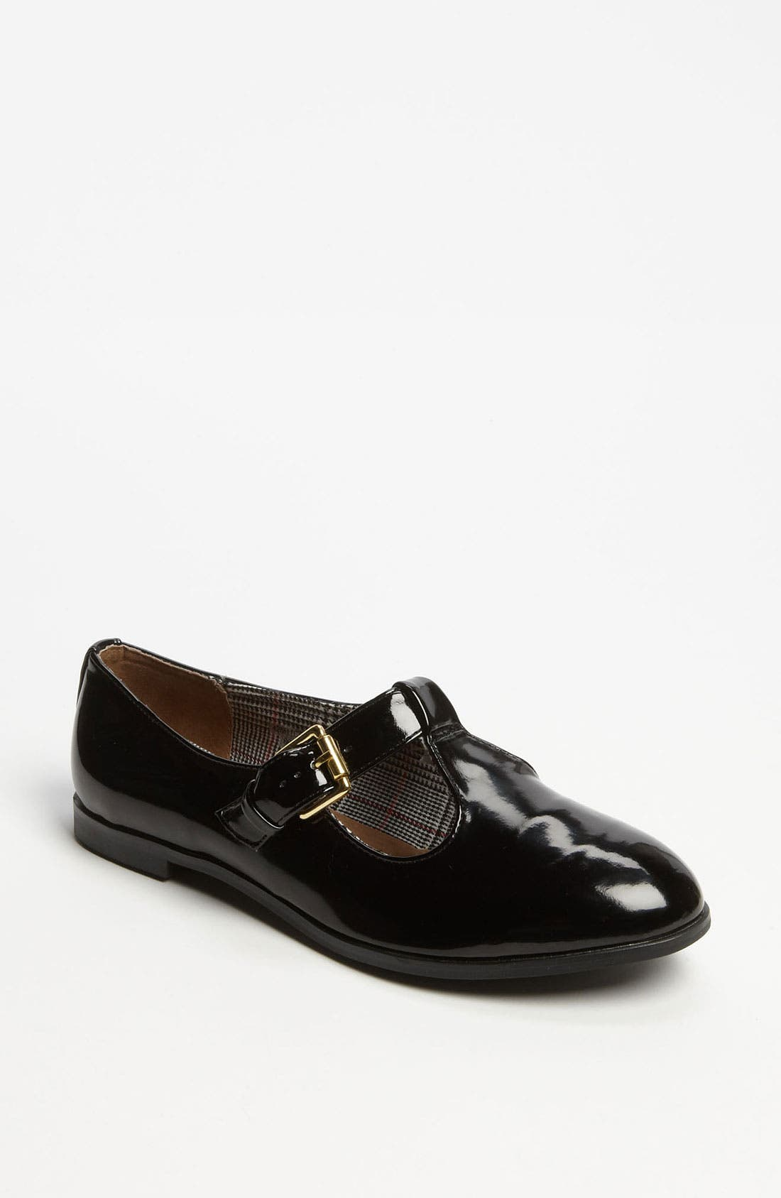 Alternate Image 1 Selected - Topshop 'Maybe' T-Strap Flat