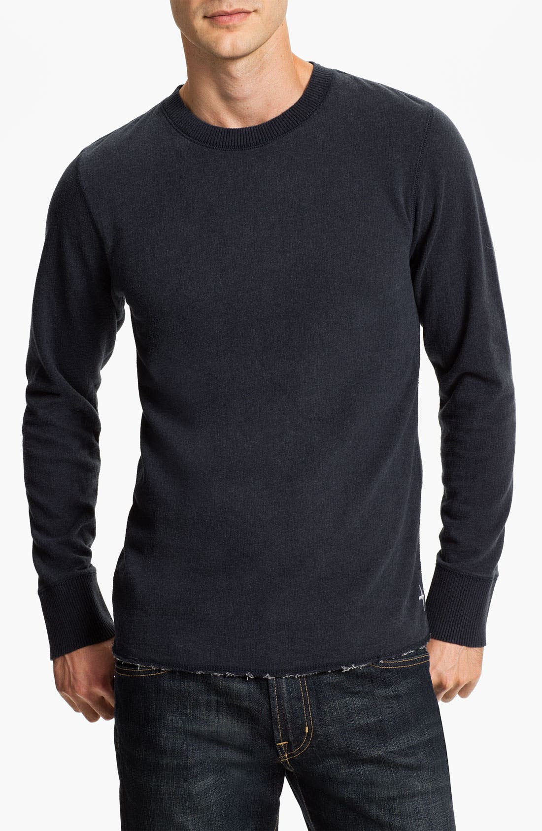 Main Image - Relwen Crewneck Thermal Sweatshirt