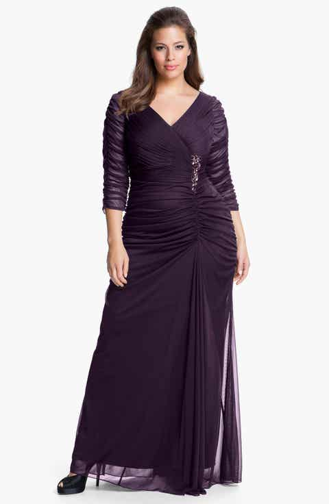 Purple Plus-Size Dresses | Nordstrom