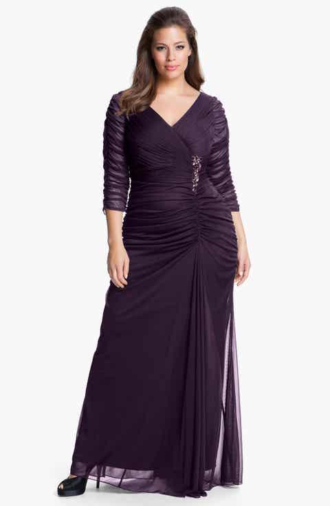 Purple Dresses Plus-Size Clothing | Nordstrom