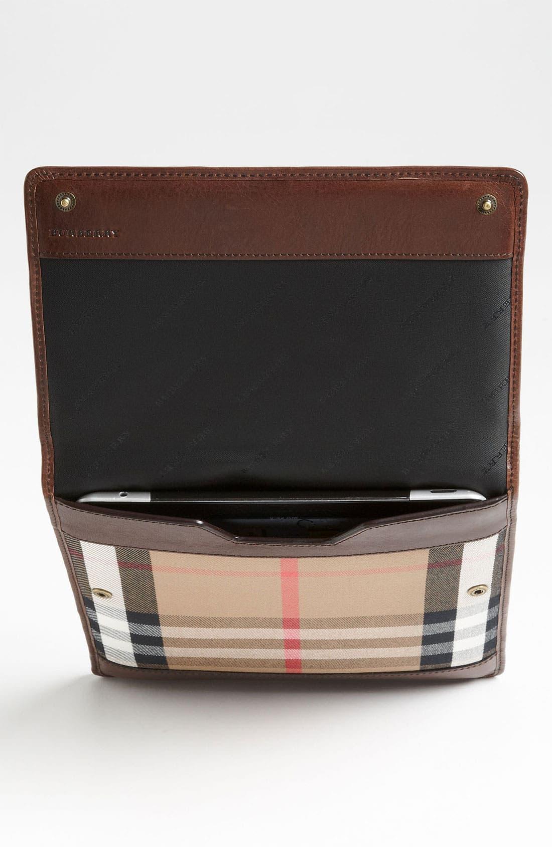 Alternate Image 3  - Burberry 'House Check' iPad Sleeve