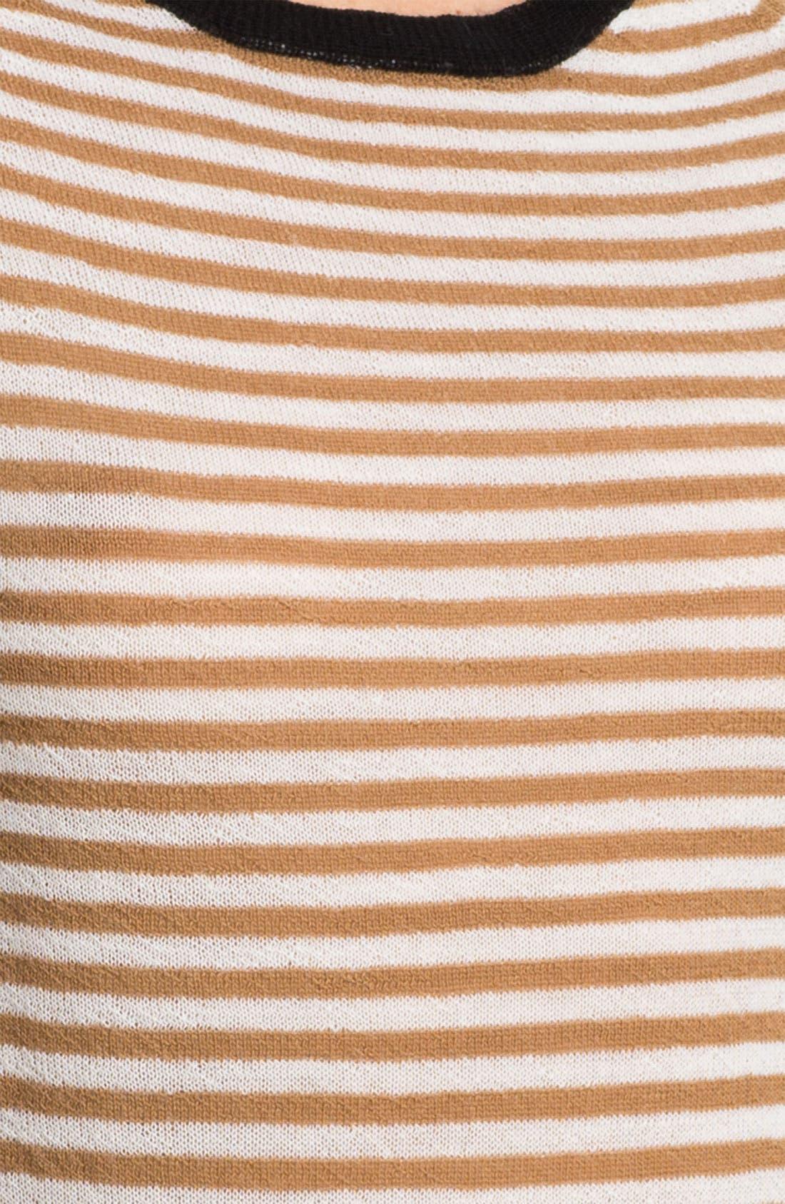 Alternate Image 3  - A.L.C. 'Cayden' Stripe Wool Sweater