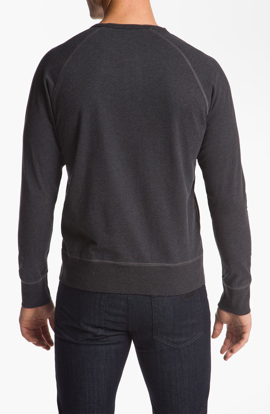 Alternate Image 2  - Ben Sherman Henley Sweatshirt
