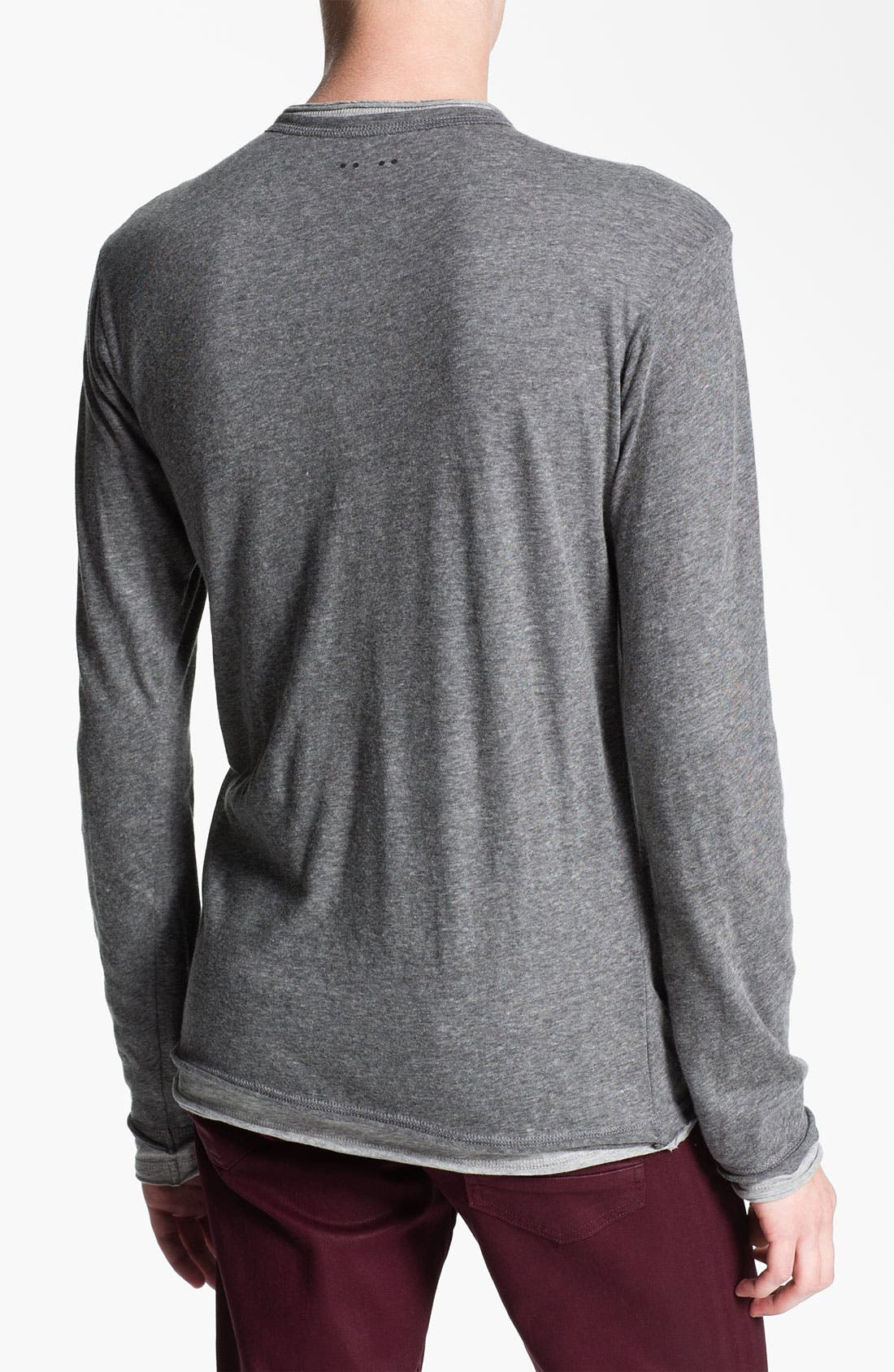 Alternate Image 2  - J.C. Rag Double Layer Henley